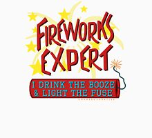 4th of July Funny Fireworks Expert American Independence Day Unisex T-Shirt