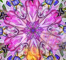 Pretty Pastel Fractal by Tori Snow