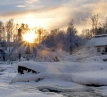 Frozen River Sticker