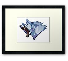 Ginga Densetsu Weed Orion: Bella (with drool!) Framed Print