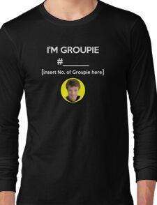 """""""I'm Groupie Number.... """" Joss Whedon's Dr. Horrible - Light Long Sleeve T-Shirt"""