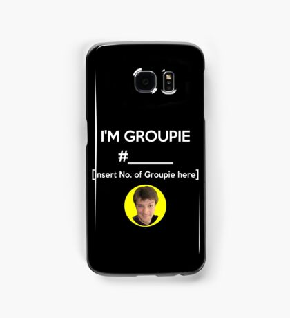 """I'm Groupie Number.... "" Joss Whedon's Dr. Horrible - Light Samsung Galaxy Case/Skin"