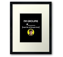 """I'm Groupie Number.... "" Joss Whedon's Dr. Horrible - Light Framed Print"