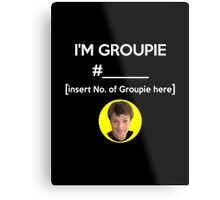 """I'm Groupie Number.... "" Joss Whedon's Dr. Horrible - Light Metal Print"