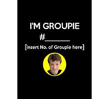 """I'm Groupie Number.... "" Joss Whedon's Dr. Horrible - Light Photographic Print"