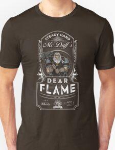 Steady Hand McDuff's Dear Flame Whisky Unisex T-Shirt
