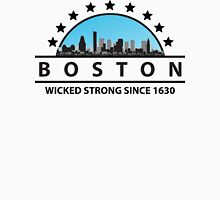 Boston Wicked Strong Since 1630 Womens Fitted T-Shirt