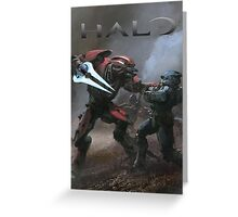 Halo Poster  Greeting Card