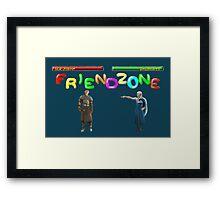 Mortal Friendzone Framed Print