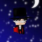 Chibi Tuxedo Mask by artwaste