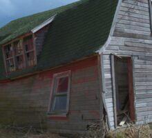 Old Farm Building Sticker