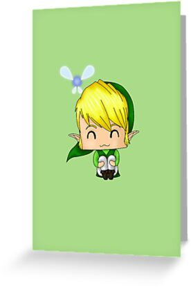 Chibi Link by artwaste