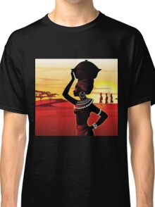 African woman Classic T-Shirt