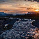 Sunrise at Quill Creek by Yukondick