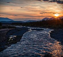 Sunrise at Quill Creek by Yukondick