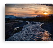 Sunrise at Quill Creek Canvas Print