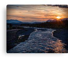 Sunrise at Quill Creek Canvas Print