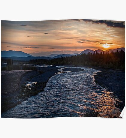 Sunrise at Quill Creek Poster