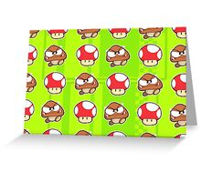 Goomba Shrooms Greeting Card