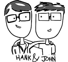 Hank & John Green by wereallinfected