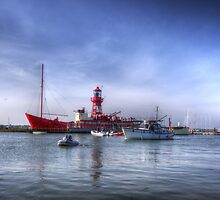 Tollesbury Lightship 'Trinity' by Nigel Bangert