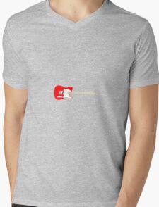 Tele Mens V-Neck T-Shirt