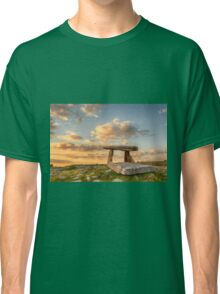 5000 years old Polnabrone Dolmen in Burren, Co. Clare - Ireland Classic T-Shirt