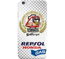 Marquez baby champ iPhone Case/Skin
