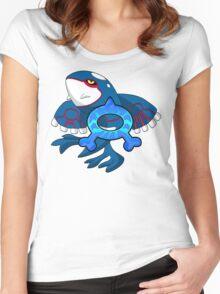 Team Aqua - Kyogre Women's Fitted Scoop T-Shirt