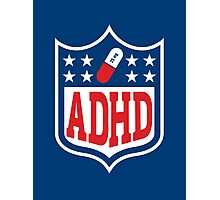 ADHD Shield Photographic Print