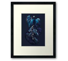 Malevolent Framed Print
