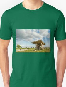 5000 years old Polnabrone Dolmen in Burren, Co. Clare - Ireland T-Shirt
