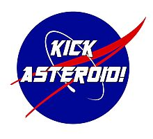 Kick Asteroid! Photographic Print