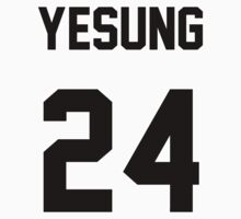 Super Junior Yesung Jersey Kids Tee