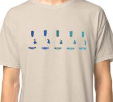 Acoustic guitar silhouette Classic T-Shirt