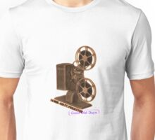 vintage movie projector Unisex T-Shirt