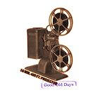 vintage movie projector by Val Goretsky