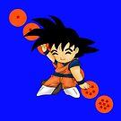 Dancing Goku by artwaste