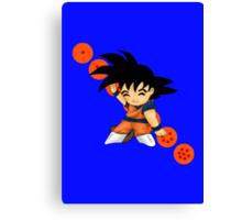Dancing Goku Canvas Print