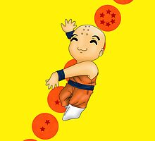 Dancing Krillin by artwaste