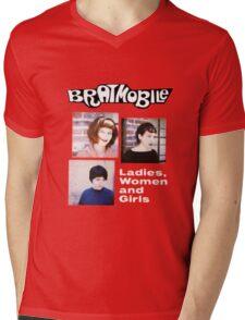 bratmobile riot grrrl ladies women and girls Mens V-Neck T-Shirt