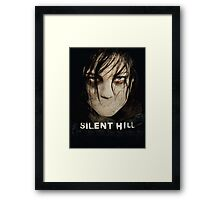 Silent Hill mouth Framed Print