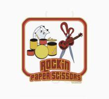 Rockin Paper Scissors by mytshirtfort