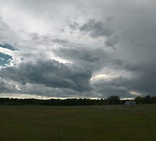 Storm over Wisconsin Farm by Timothy  Ruf
