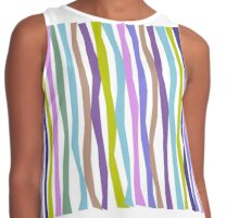 Cool Tones Color Sticks Contrast Tank