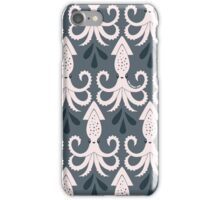 Pale Squid Dark Ink iPhone Case/Skin