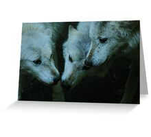 Strength of the pack Greeting Card