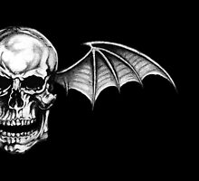 A7X Deathbat (Black) by MentalBlank