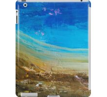 Blue Windswept Abstract Painting iPad Case/Skin