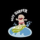 Baby Surfer by Sonia Pascual